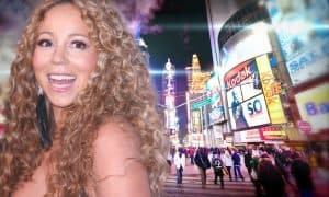 Mariah in Times Square